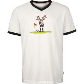 Elkline Ecke T-Shirt Homme, white